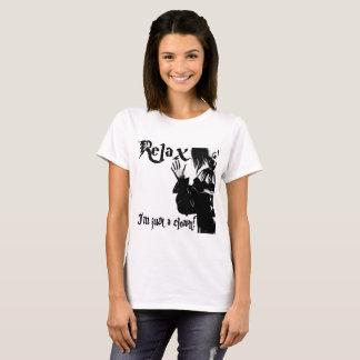 """Camiseta """"Relaxe-me são apenas um palhaço """""""
