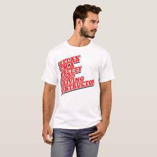 Camiseta Relaxe-me são um relativamente bom instrutor de