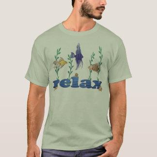 Camiseta Relaxe peixes tropicais