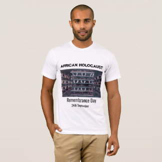 Camiseta Relembrança africana do holocausto
