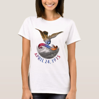 Camiseta Relembrança arménia do genocídio
