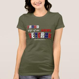 Camiseta Relembrança da honra da família do veterano de