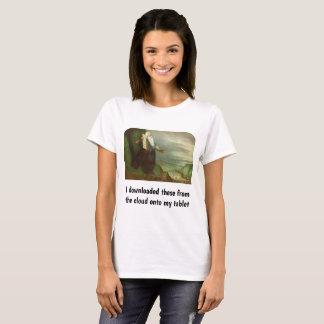 Camiseta Religião do vintage, Moses e 10 mandamentos