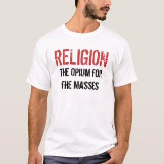 Camiseta RELIGIÃO, ópio para as massas