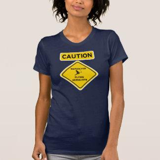Camiseta Relógio para Aerialists de voo - trapézio do