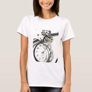 Camiseta Relógio velho artístico