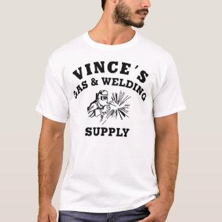 Camiseta Remake do t-shirt básico da soldadura de Vince
