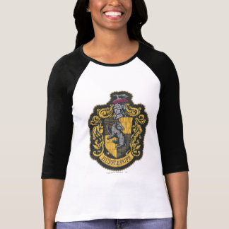 Camiseta Remendo da crista de Harry Potter | Hufflepuff