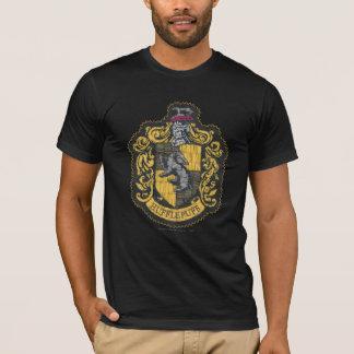 Camiseta Remendo da crista de Harry Potter | Hufflepuff