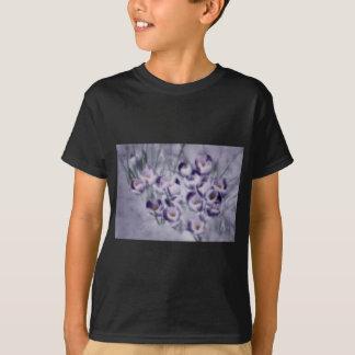 Camiseta Remendo do açafrão da lavanda
