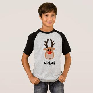 Camiseta Rena com os t-shirt do menino conhecido