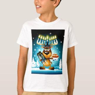 Camiseta Rena de Hanukkah