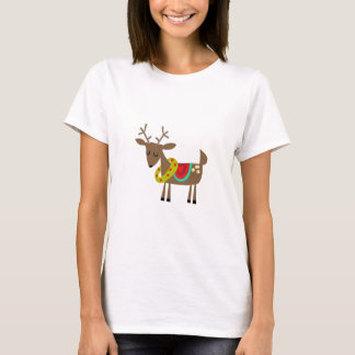 Camiseta Rena do Natal