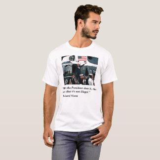 Camiseta Renascimento de Nixon do trunfo