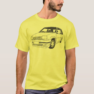Camiseta Renault 5 GT Turbo inspirou o t-shirt