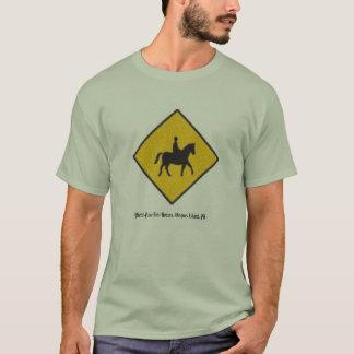 Camiseta renda para cavalos, cavalos de Fino do