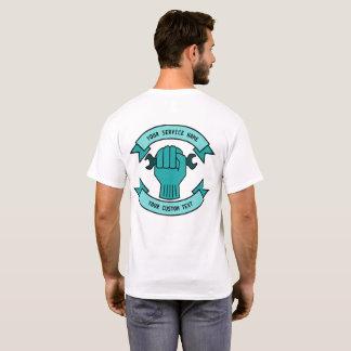 Camiseta Repare o serviço do canalizador do técnico do