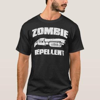 Camiseta repellent do zombi - a espingarda