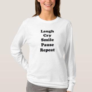 Camiseta Repetição do riso