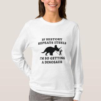Camiseta Repetições da história