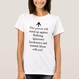 Camiseta Represente acima