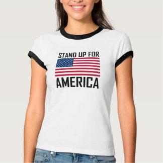 Camiseta Represente acima o hino nacional da bandeira de