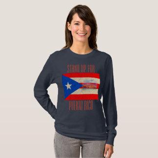 Camiseta Represente acima Puerto Rico