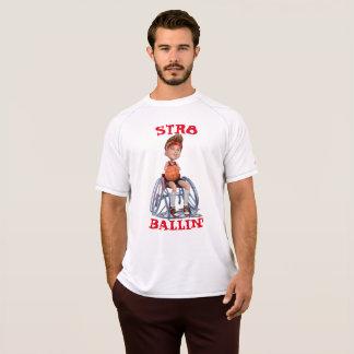 Camiseta Represente em seu esporte adaptável de denominação