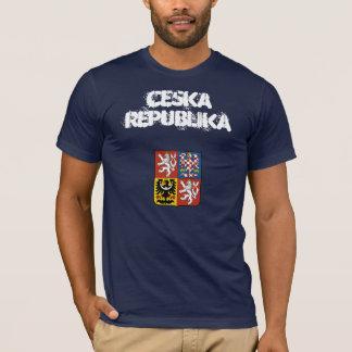 Camiseta República checa Ceska Republika com brasão