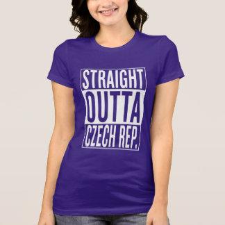 Camiseta república checa do outta reto
