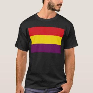 Camiseta República da bandeira da espanha - bandera