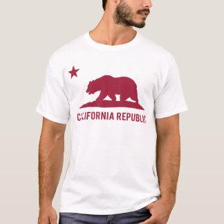 Camiseta República de Califórnia - básica - vermelho
