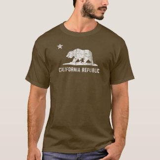 Camiseta República de Califórnia do vintage