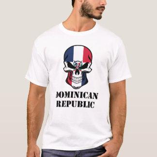 Camiseta República Dominicana dominiquense do crânio da