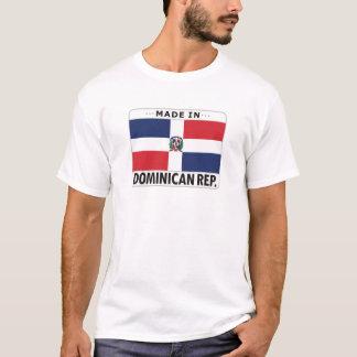 Camiseta República Dominicana feita dentro
