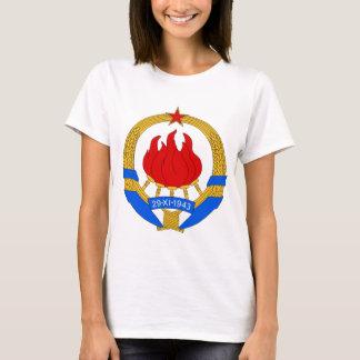 Camiseta República federal socialista do emblema de