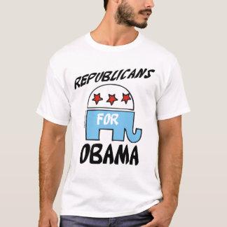 Camiseta Republicanos para t-shirt de Obama