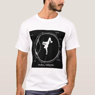 Camiseta Requiem óptico do preto da confusão