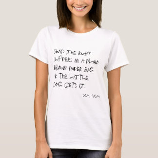Camiseta Resgate do rubi