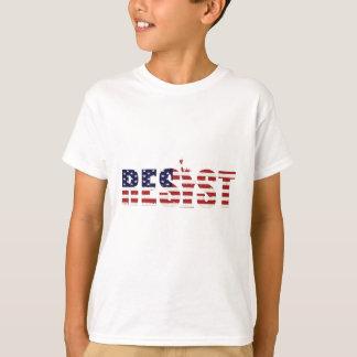 Camiseta Resista a liberdade da resistência do Anti-Trunfo