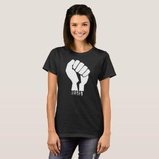 Camiseta Resista o branco do punho