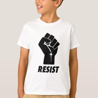 Camiseta resista o punho