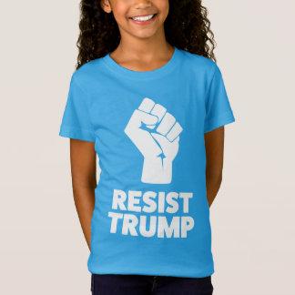 Camiseta Resista o punho apertado trunfo da solidariedade