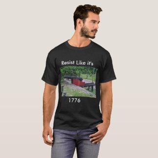 Camiseta Resista o t-shirt com canhão colonial