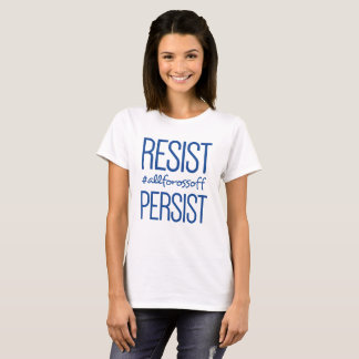 Camiseta Resista & persista #AllForOssoff - AZUL