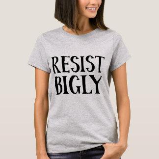 Camiseta Resista roupa da resistência do trunfo de Bigly o