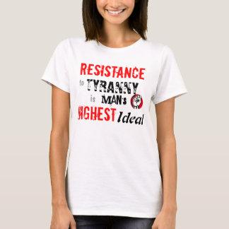 Camiseta RESISTÊNCIA à tirania
