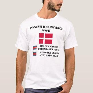 Camiseta Resistência dinamarquesa (duas unidades)
