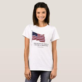 Camiseta Resistência e liberdade