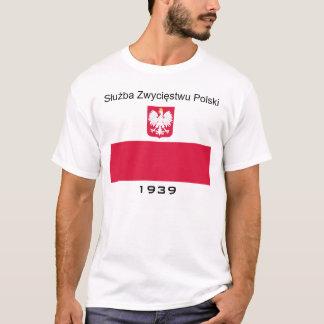 Camiseta Resistência polonesa (a mais adiantada)
